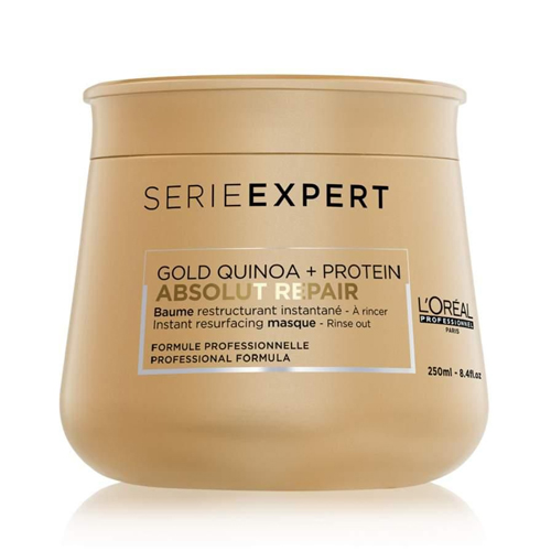 Série Expert Máscara Gold Quinoa Absolut Repair Bálsamo 250ml