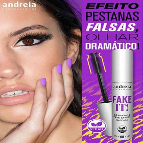 Andreia Máscara Pestanas - Rimel Fake It 10ml 2