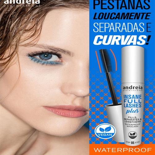 Andreia Máscara Pestanas - Rimel Insane Full Lashes Waterproof 10ml 2