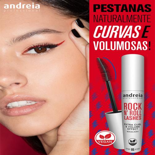 Andreia Máscara Pestanas - Rimel Rock N' Roll 10ml 2