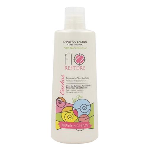 Shampoo Cachos Sem Sal 300ml - Fio Restore