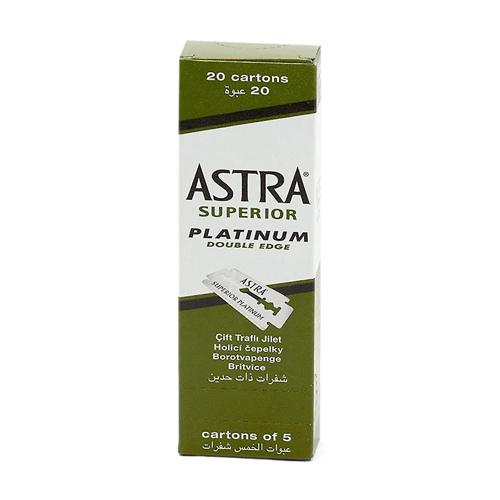 Laminas Barbear Astra Superior Platinium Caixa