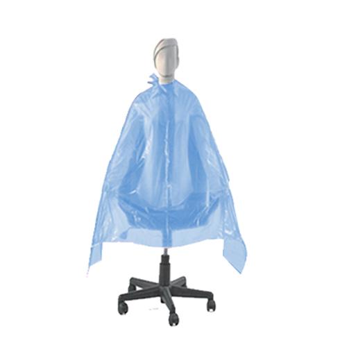 Penteador Descartável Plástico Azul Tinta 20 Unidades