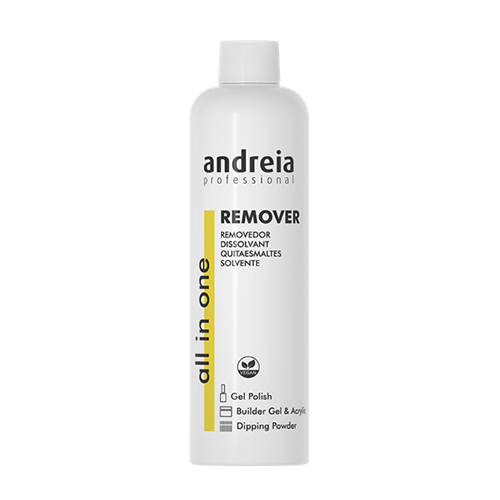 Removedor Verniz Gel Andreia All in One 250ml