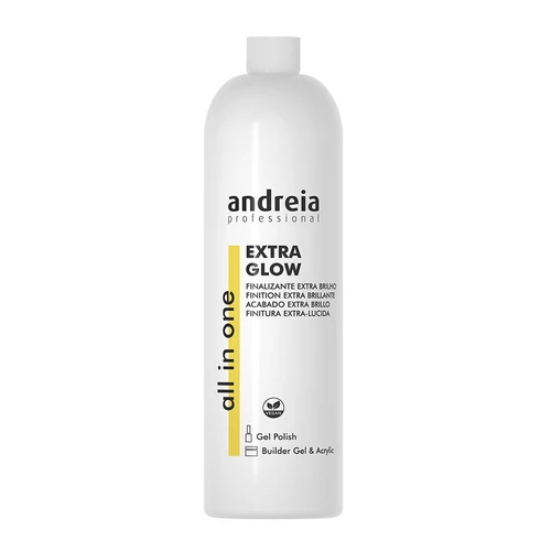 Andreia All In One Extra Glow Finalizante Unhas - 1000ml