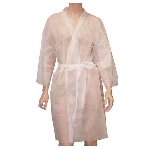 Kimono Branco Descartável para um Uso