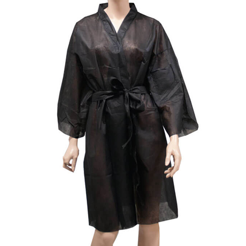 Kimono Preto Descartável para um Uso