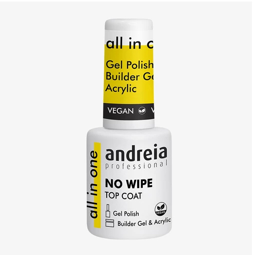 Andreia All In One Top Coat No Wipe - 10.5ml