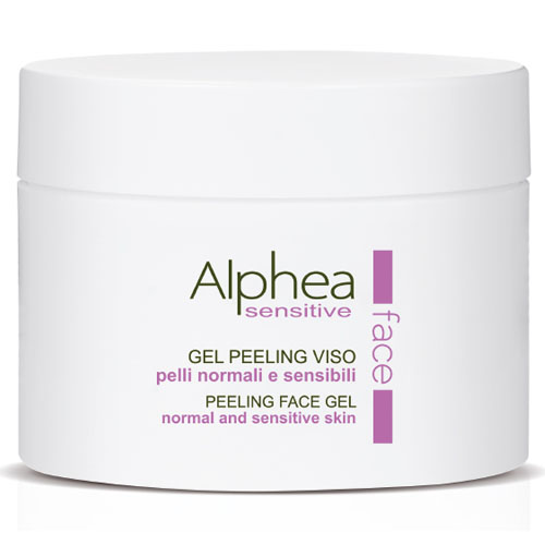 Gel Peeling Facial Alphea Pele Sensível Regenerante 250 ml