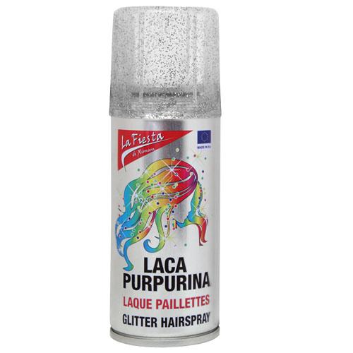 Laca Côr Fantasia Glitter Prata 100 ml