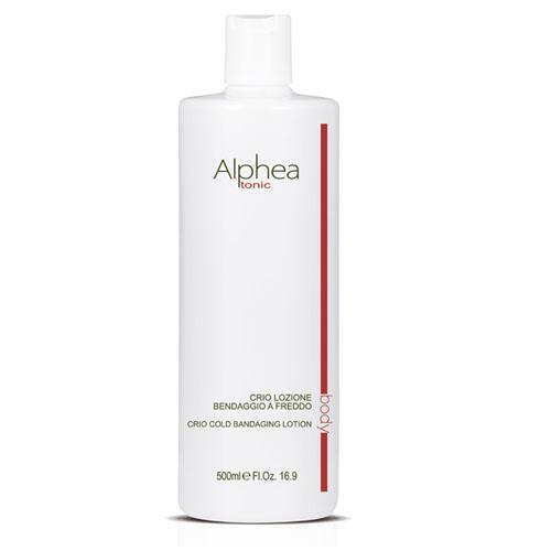 Loção Térmica Corpo Alphea para Envolvimento Tonificante Efeito Frio 500 ml