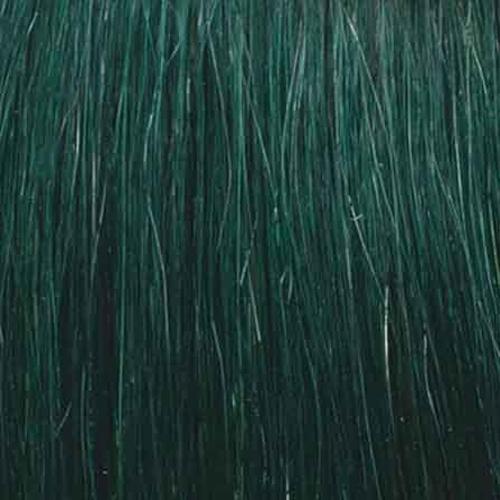 She Extensões Queratina Lisas Fantasia Verde Escuro - 10 unidades