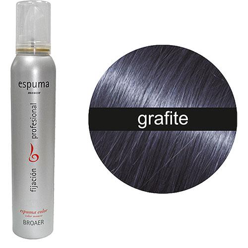 Espuma Broaer de Côr Grafite 200 ml