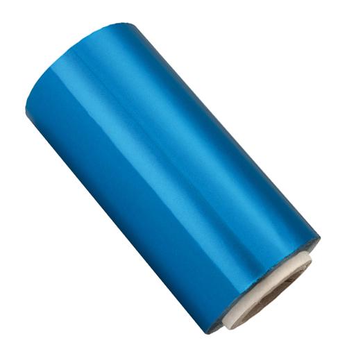 Rolo Papel Alumínio Azul - 13cm