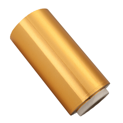 Rolo Papel Alumínio Dourado - 13cm