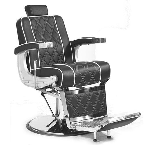 Cadeira De Barbeiro Profissional Vigor Preta