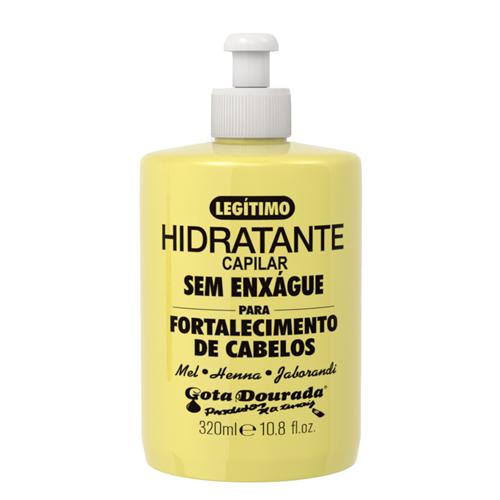 Gota Dourada Hidratante Capilar sem Enxágue - 320ml