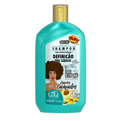 Gota Dourada Shampoo Definição Cabelos Cacheados 430ml