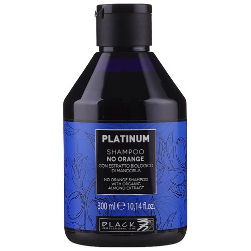 Black Line Shampo Platinum No Orange - 300ml