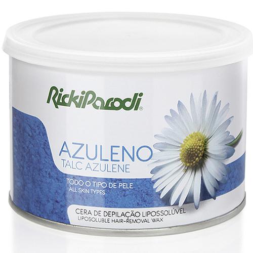 Cera Depilatória Lipossolúvel Rickiparodi Azuleno Talco 400 gr