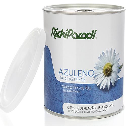 Cera Depilatória Lipossolúvel Rickiparodi Azuleno Talco 800 gr