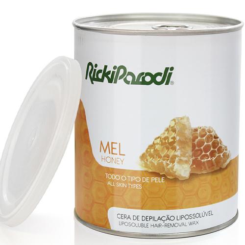 Cera Depilatória Lipossolúvel Rickiparodi Mel 800 gr