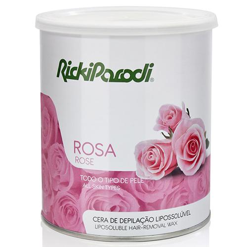 Cera Lata Ricki Parodi Lipossoluvel Rosa -800 Gramas