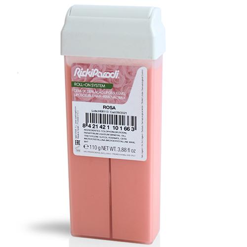 Cera Roll On Rickiparodi Titânio Rosa 110 ml