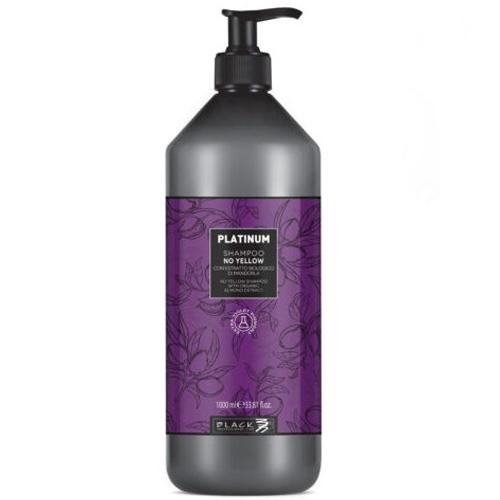 black profissioanl shampô Platinum No Yellow 1000ml