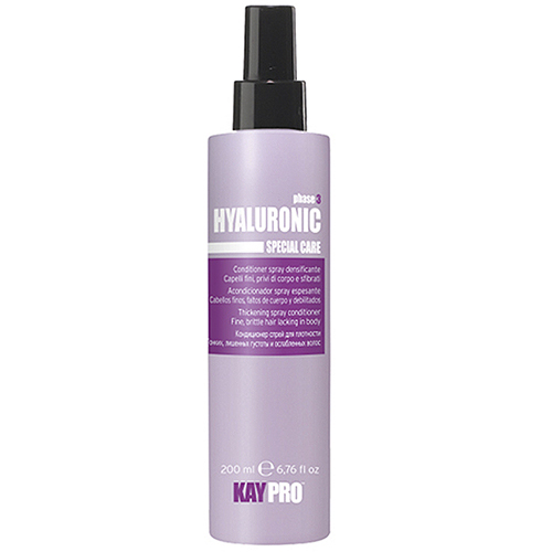 Leave In Capilar Kaypro Hyaluronic Cabelos Finos e Danificados 200 ml